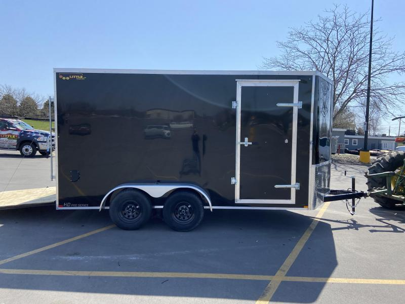 "2021 7x14 Doolittle Cargo Trailer w/Ramp Door 6"" Extra Height"