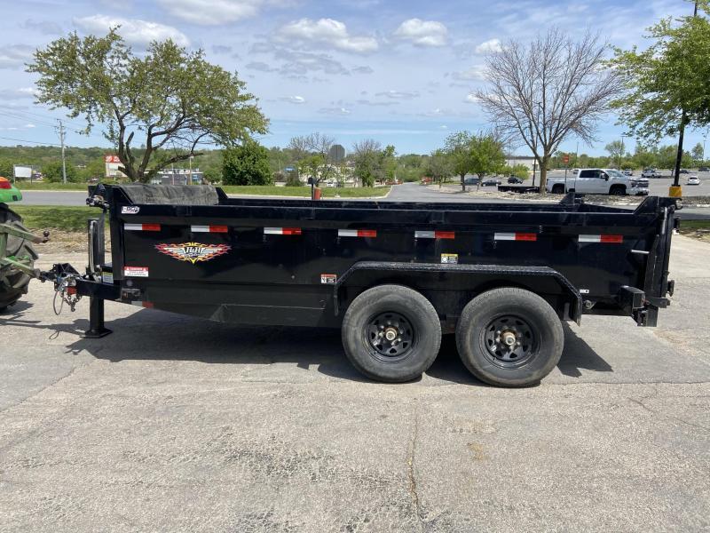 2020 H and H Trailer 82x14 Bumper Pull Dump Dump Trailer