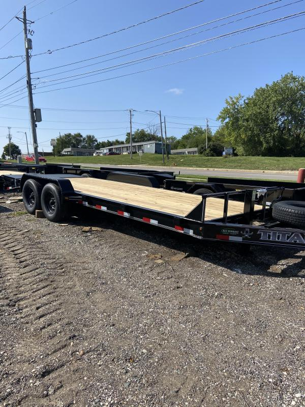 Titan Trailers 18+3 Titan Low Glide I Beam Trailer