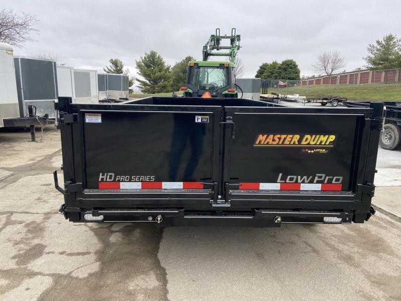 2021 Doolittle 82x16 Master Dump 14000lb GVWR Dump Trailer
