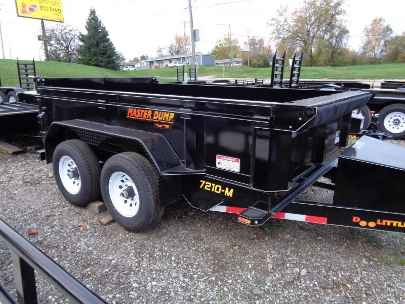 2020 Doolittle Trailer Mfg 72x12 Master Dump 10000lb GVWR Dump Trailer