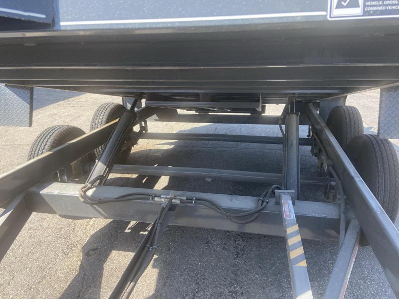 Doolittle 82x12 Master Dump 10000lb GVWR(DEALER DEMO)