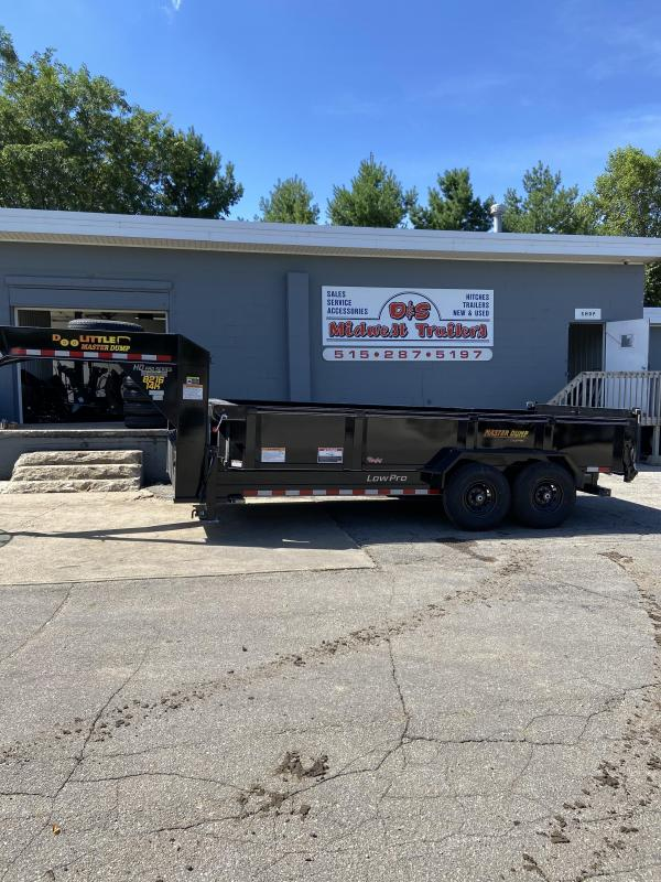 2021 Gooseneck Doolittle 82x16 Master Dump 14000lb GVWR Dump Trailer