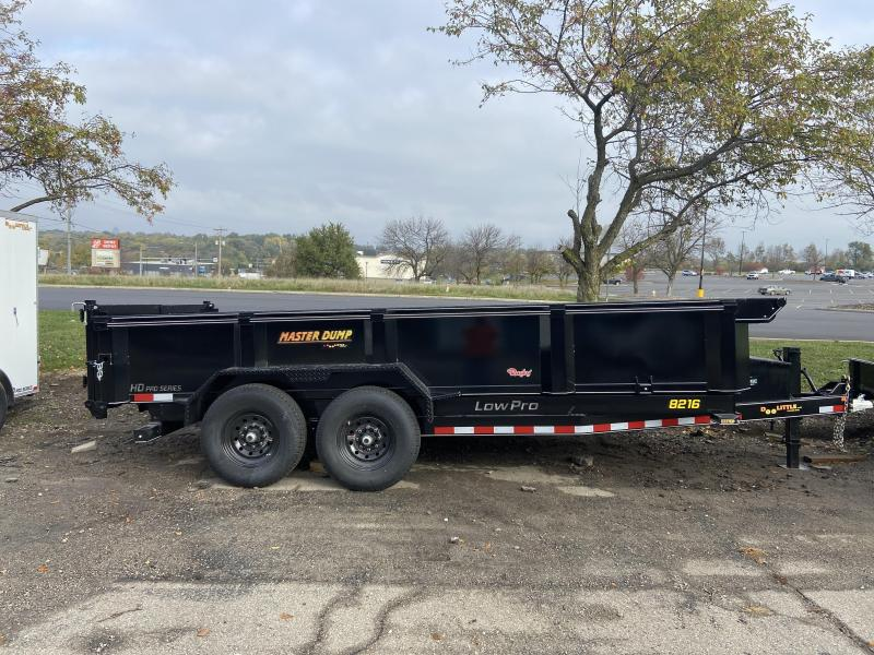 2021 Doolittle 82x16 Master Dump 14000lb GVWR(Light Paint Damage)