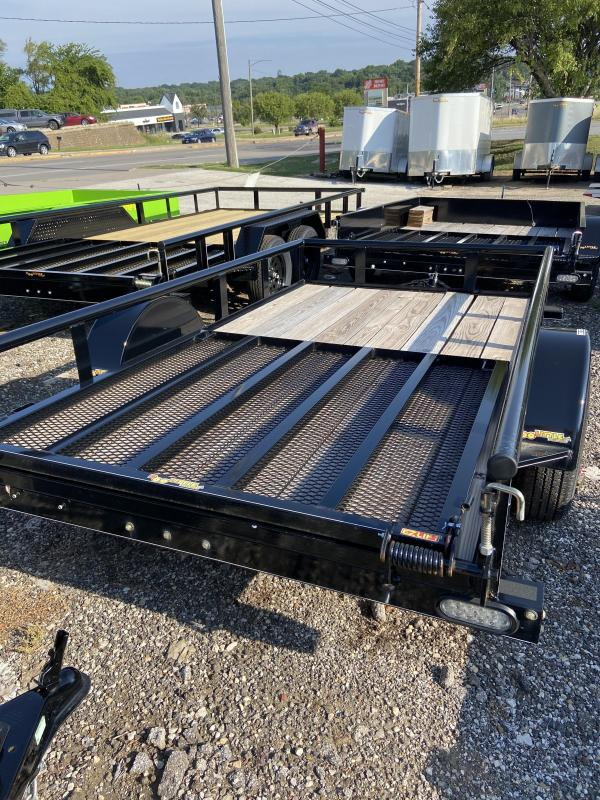 2021 Doolittle 66x10 Single Axle Utility Trailer W/Open Sides