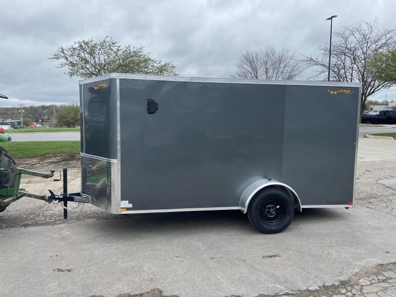 2021 Doolittle 6x12 Bullitt Cargo w/Ramp Door & D-Rings