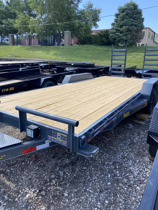 2020 Doolittle Trailer Mfg 84x20 Doolittle Extreme MD Skid Loader Trailer