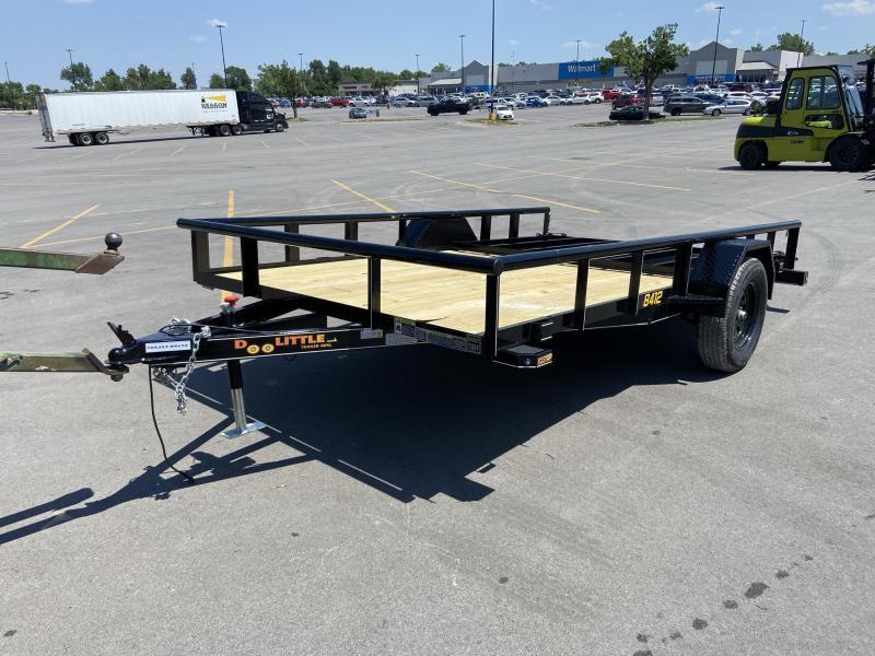 84x12 Single Axle Utility Trailer W/Open Sides