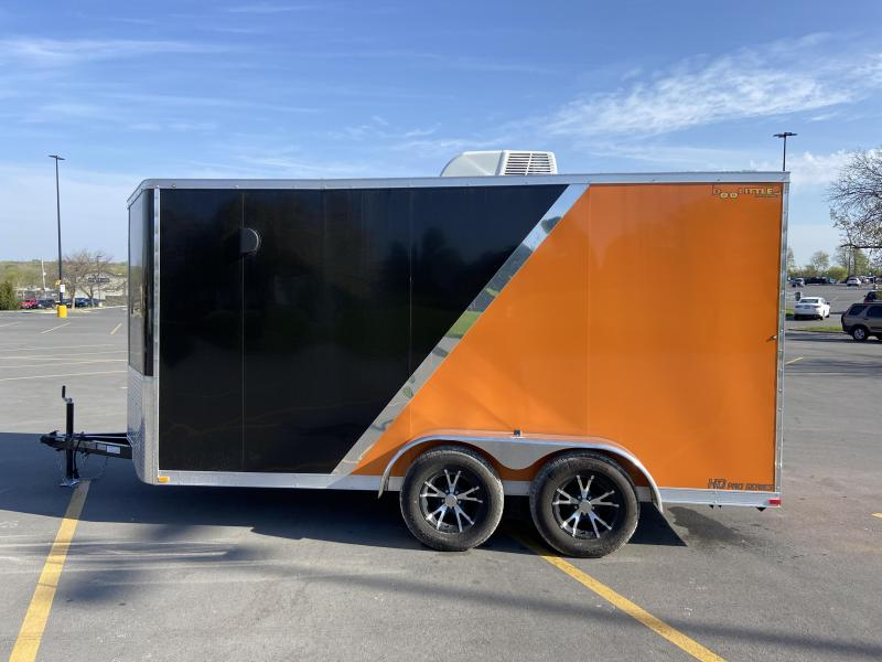 2021 7x14 Doolittle Harley Trailer w/Ramp Door Awing & A/C