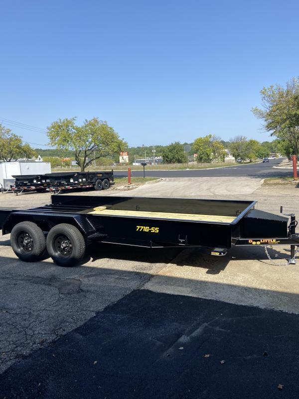 Doolittle 77x16 Tandem Axle Utility Trailer W/Solid Sides