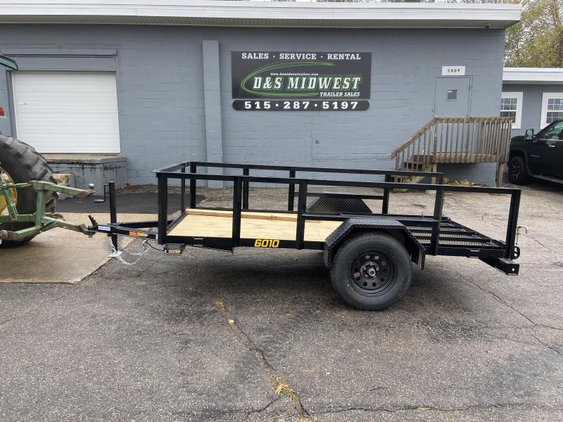 Doolittle 66x10 Utility Trailer with Extended 2' Open Sides