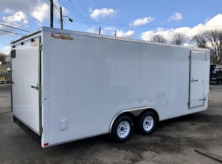 2020 Doolittle Trailer Mfg 8.5x20 Bullitt Cargo Trailer Enclosed Cargo Trailer