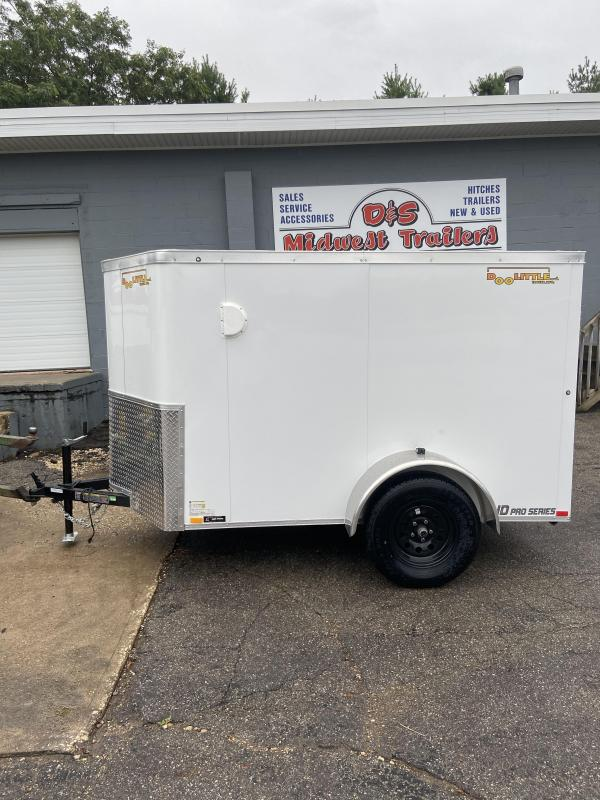 2021 Doolittle  5x8 Bullitt Enclosed Cargo Trailer w/Double Doors