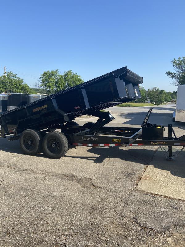 2022 Doolittle 82x14 Master Dump 14000lb GVWR Dump Trailer
