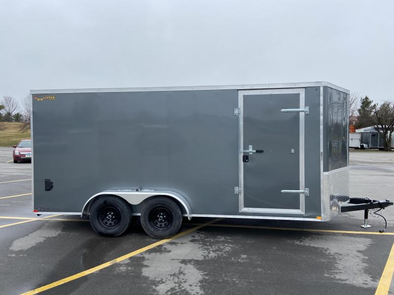 2021 7x16 Doolittle Cargo Trailer w/Ramp Door