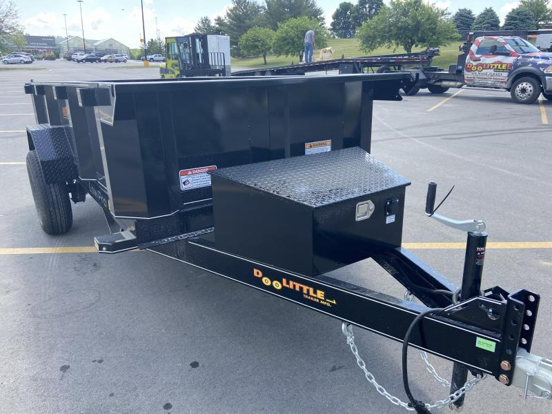 2021 Doolittle  60x10 Master Dump Trailer Single 5k Axle