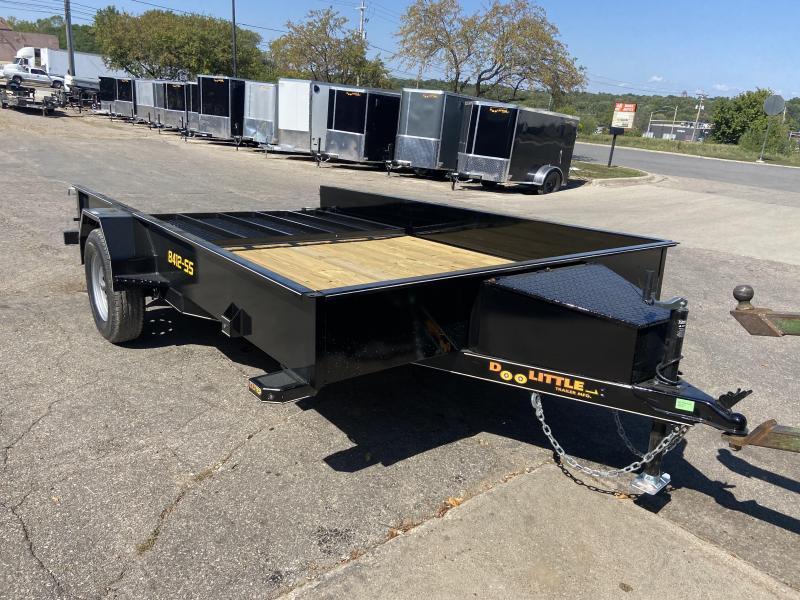84x12 Single Axle Utility Trailer W/Solid Sides
