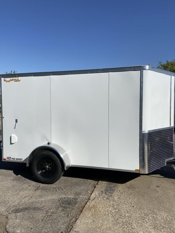 2021 Doolittle  6x10 Bullitt Enclosed Cargo Trailer w/Double Doors