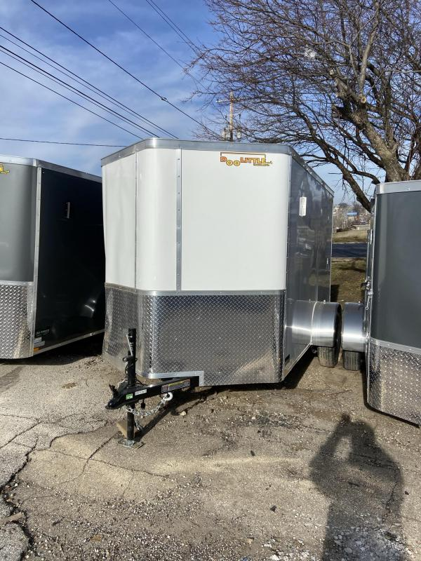 6x10 Bullitt Enclosed Cargo Trailer w/Double Doors(Damaged in Accident)