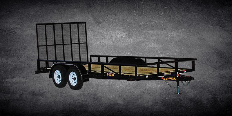 Year 2020 Doolittle 84x18 Tandem Axle Utility Trailer
