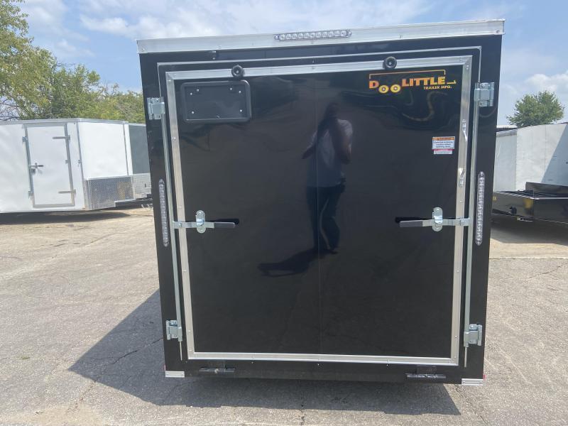 2022 Doolittle 6x12 Bullitt Enclosed Cargo Trailer w/Ramp Door