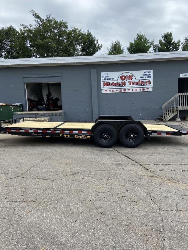 2021 Doolittle Trailer Mfg 16+6 EZ Loader GT Tiltbed Utility Trailer