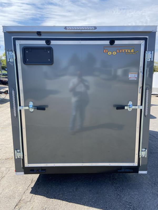 2022 Doolittle 6x10 Bullitt Enclosed Cargo Trailer w/Ramp Door