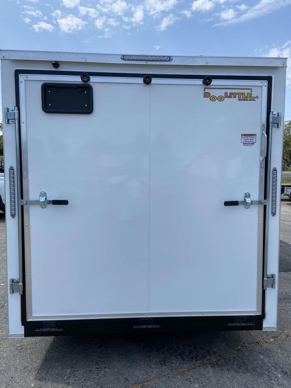 2021 Doolittle 7x16 Doolittle Cargo Trailer w/Ramp Door 7' Tall