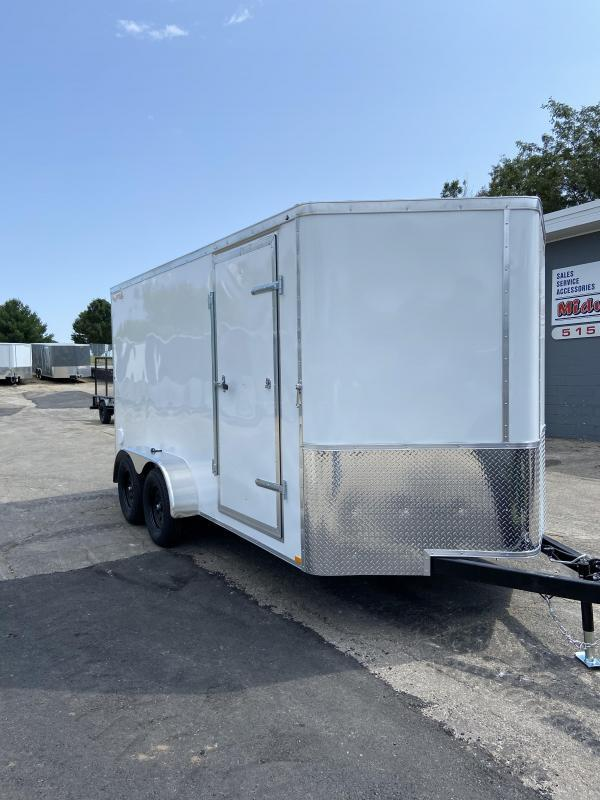 2021 Doolittle 7x16 Doolittle Cargo Trailer w/Ramp Door 7' Tall