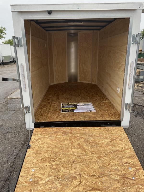 2021 Doolittle 5x8 Bullitt w/Ramp Door & Side Door