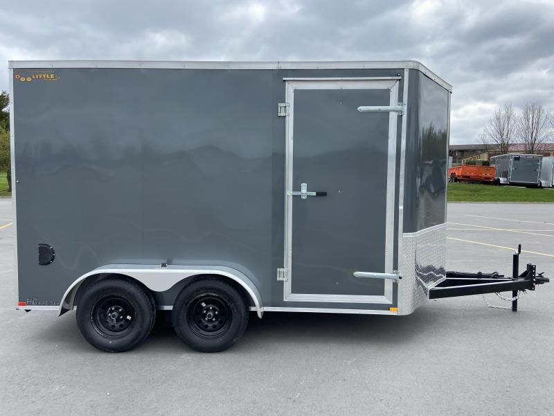 2021 7x12 Doolittle  w/Ramp Door 7' Tall & 1' Longer Tongue