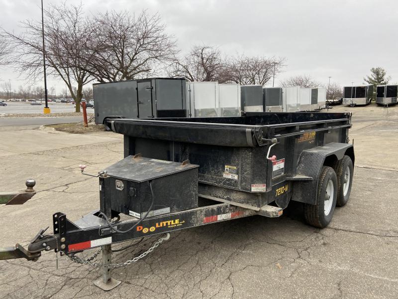 2018 Doolittle Trailer Mfg 72x10 MasterDump Dump Trailer