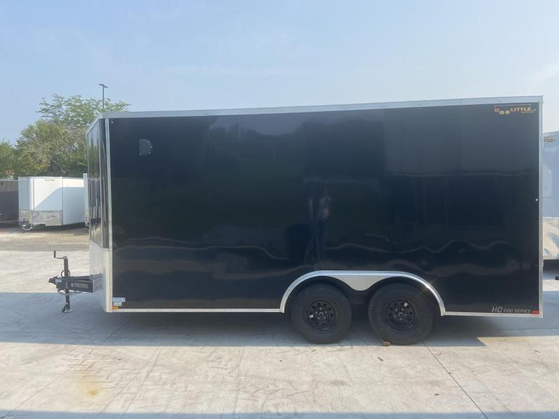 2021 Doolittle 8.5x16 Bullitt Cargo Trailer 7' Tall Inside