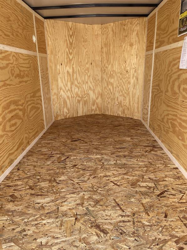 2021 Doolittle  6x10 Bullitt Enclosed Cargo Trailer w/Ramp Door