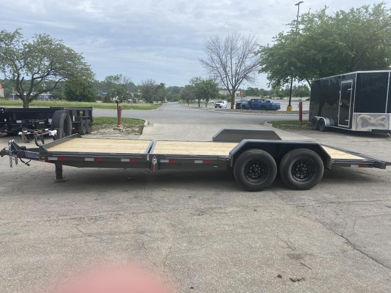 2021 Titan Trailers 16+6 Tilt Deck Equipment Trailer