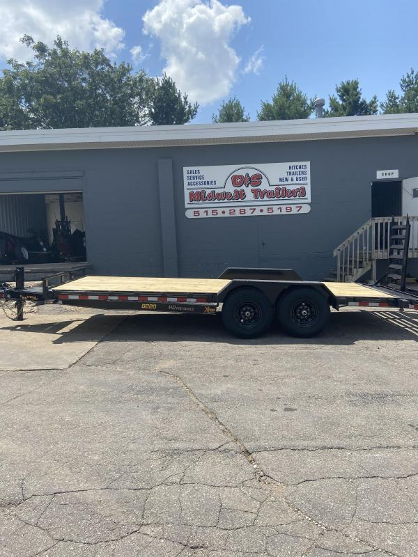 2021 Doolittle Trailer Mfg 82x20 Doolittle Extreme HD Skid Loader Trailer