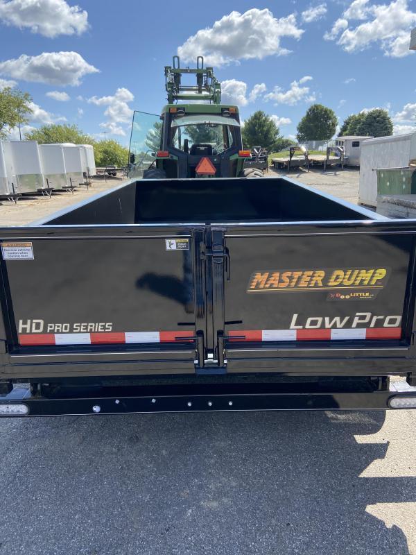 72x12 Master Dump 10000lb GVWR Dump Trailer W Dual Cylindars