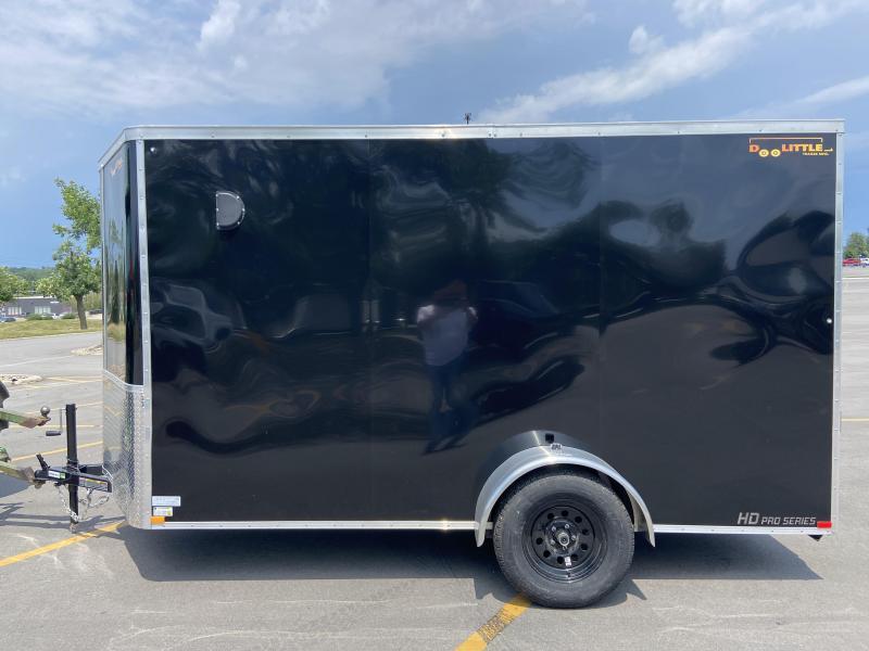 """2021 Doolittle 6x12 Bullitt Cargo w/Ramp Door, +6"""" Height"""