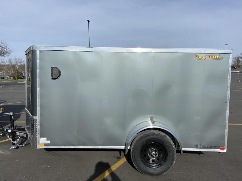 2021 Doolittle Trailer Mfg 5x10 Bullitt Enclosed Cargo Trailer w/Double Doors