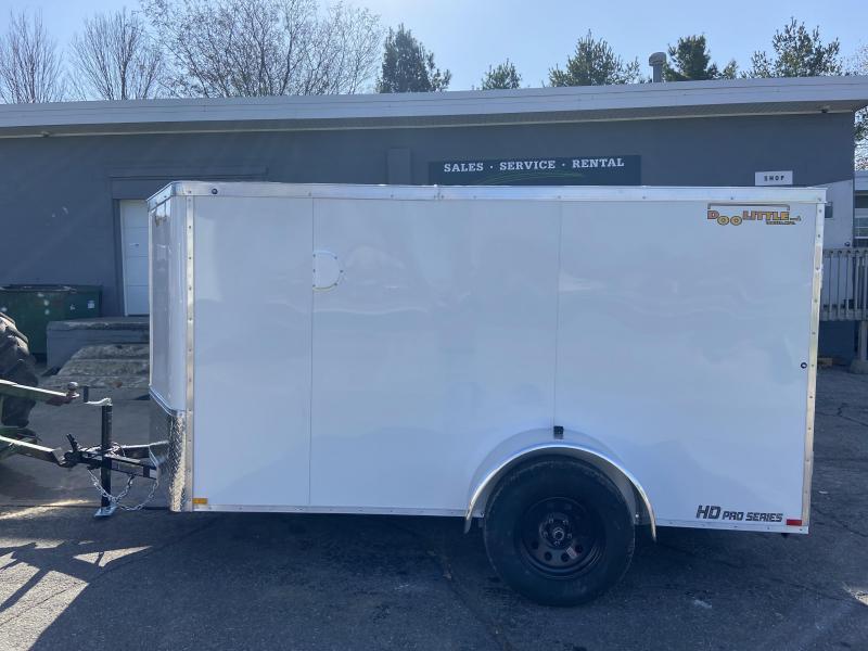 2021 Doolittle 5x10 Bullitt Enclosed Cargo Trailer w/Ramp Door & Side Door