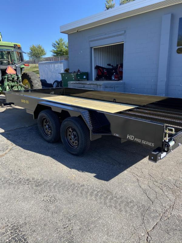 2022 Doolittle 84x16 Tandem Axle Utility Trailer W/Solid Sides