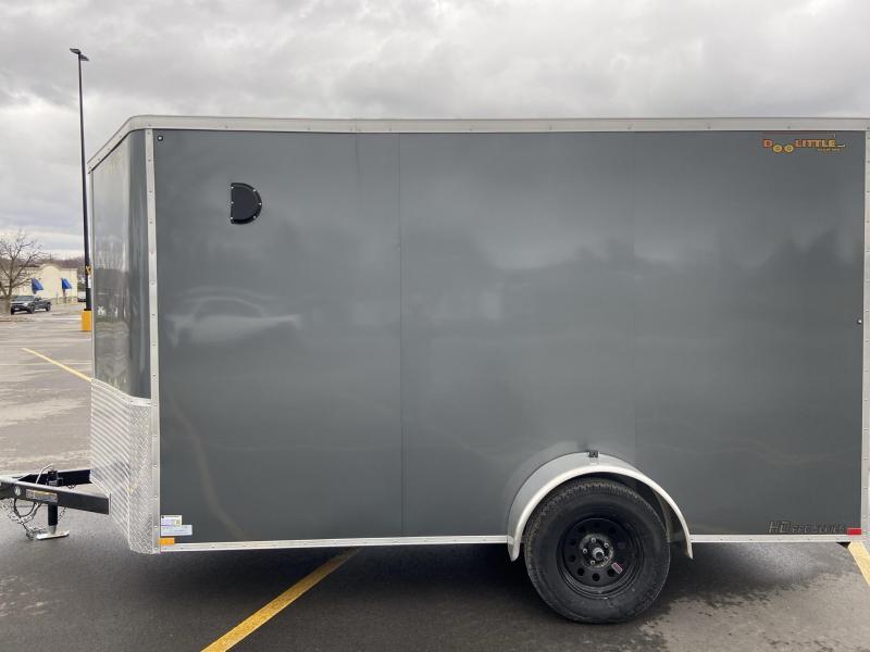 2021 7x12 Single Axle Cargo w/ Ramp Door