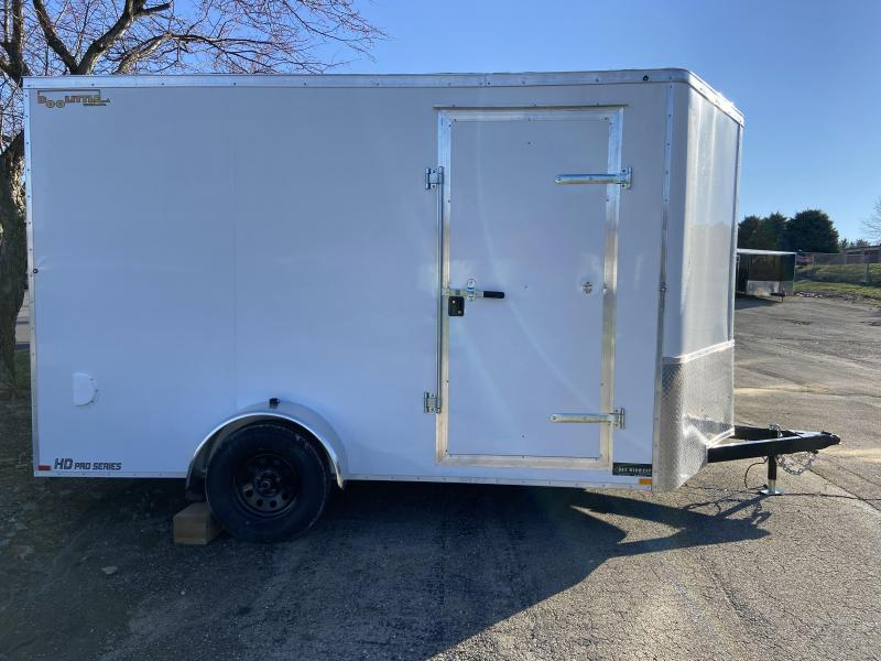 2021 Doolittle 7x12 UTV Single Axle Cargo w/ Ramp Door