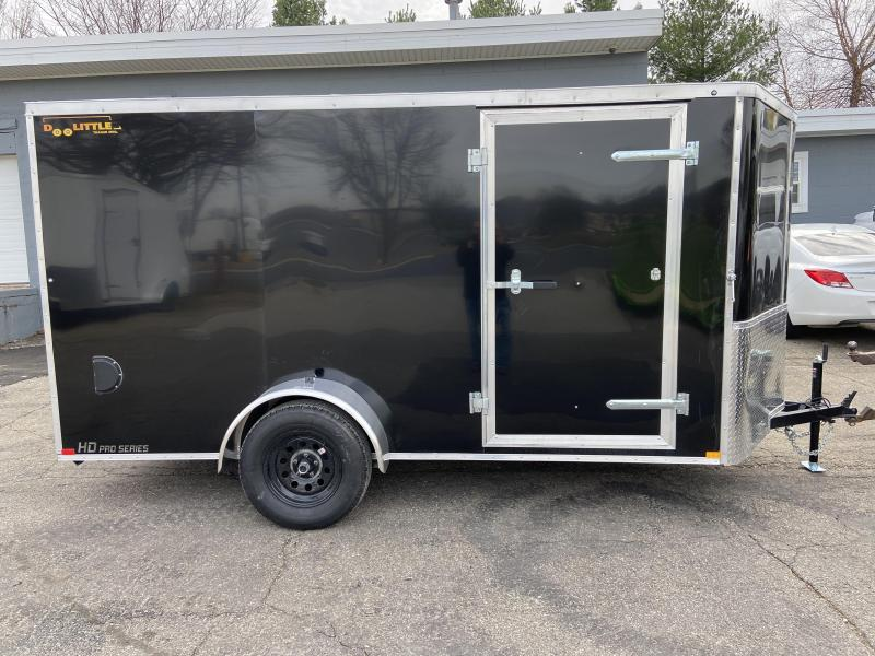 2021 Doolittle Trailer Mfg 6x12 Bullitt Cargo Enclosed Cargo Trailer w/Ramp Door