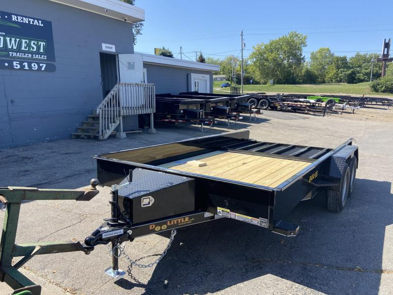 Doolittle 84x14 Tandem Axle Utility Trailer W/Solid Sides