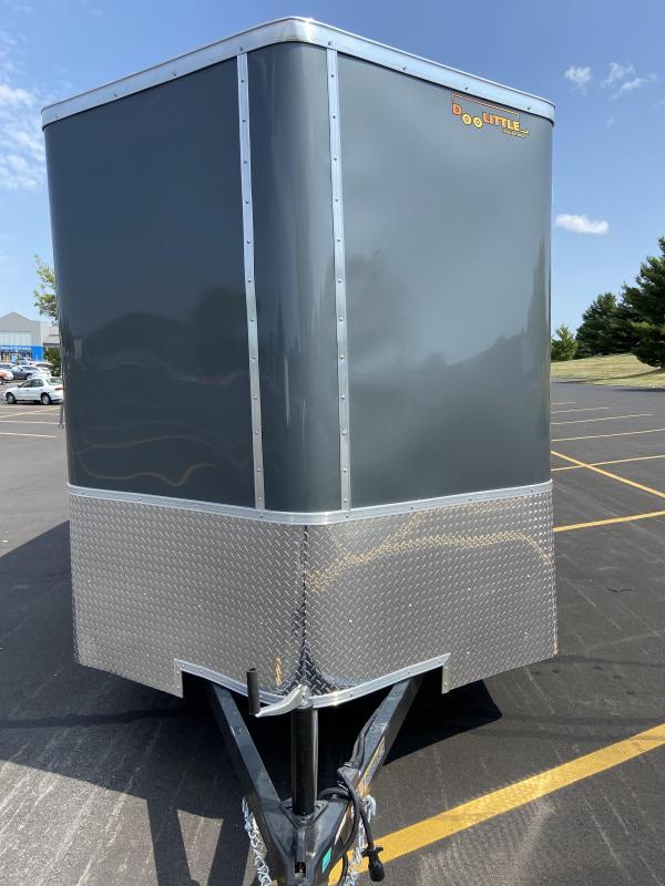 """2021 Doolittle 7x16 Doolittle Cargo Trailer w/Ramp Door & 6"""" Extra Height"""