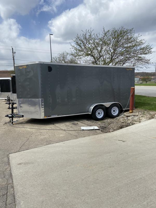 2020 Doolittle 7x16 Doolittle Cargo Trailer w/Ramp Door (Light Hail Damage)
