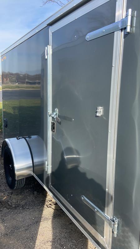 2021 Doolittle Trailer Mfg 6x10 Bullitt Cargo Enclosed Cargo Trailer w/Ramp Door