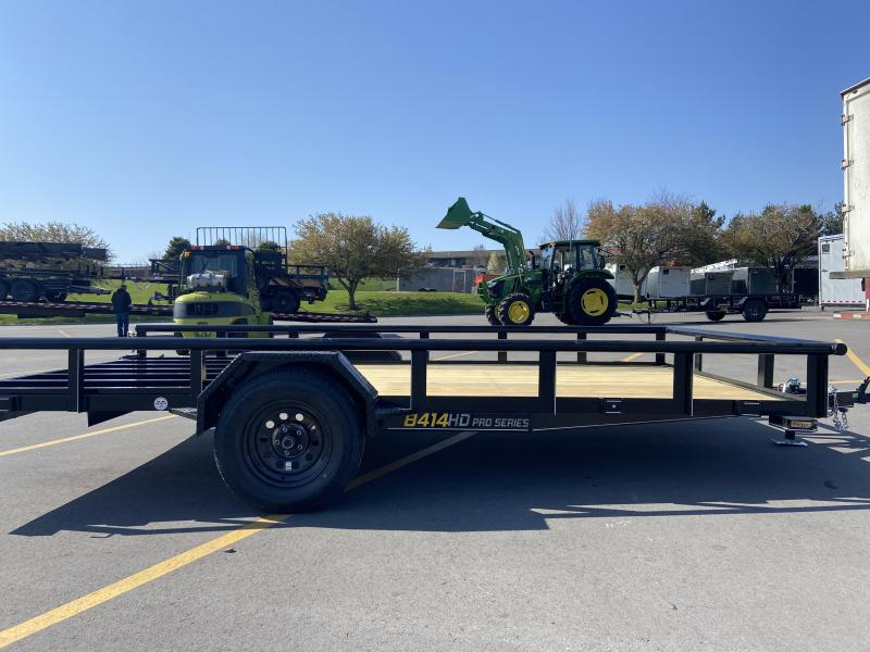 84x14 Single Axle Utility Trailer W/Open Sides