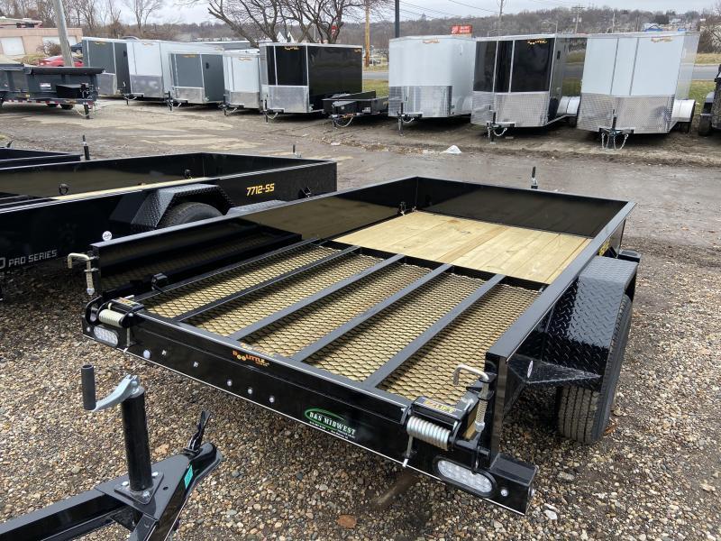 2021 Doolittle 66x10 Single Axle Utility Trailer W/Solid Sides Utility Trailer